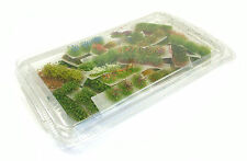 x120 Mixed tufts pack - Self adhesive - static model grass scenery