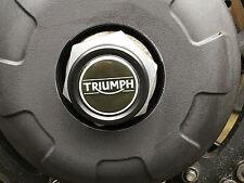 TRIUMPH Tiger 1050 Sport Trasero Eje Eje Plug Cap desagües 2013-2017 LH triunfo