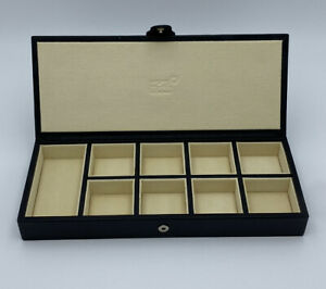 Mont Blanc Lifestyle Accessories Cufflink Collectors Box leather