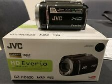 JVC Everio Camcorder  GZ-HD620BAA As New + Extras