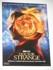 DOCTOR STRANGE Original Movie Promo Poster - IMAX - 9x13 - Benedict Cumberbatch