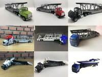 Majorette Car Transporter Trailer Truck Police 1/60 Diecast Choose item