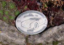 AUTO PLAKETTE # RETRO STERNFAHRT HOCHSTRASSE SCHWARZWALD 2004 PORSCHE SPEEDSTER