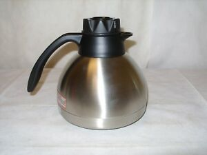 Thermos Thermax THF19SCLG4MD Stainless 1.9L Vacuum Insulated Brewer Carafe - NOS