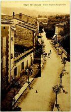 Cartolina Formato Piccolo-Bagni S.Casciana-Viale Regina Margherita Non Viaggiata