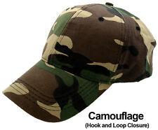Men Women New Plain Solid Color Baseball Cap Curved Visor Hat Adjustable Size