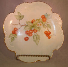"""Cake Plater Signed by Artist Nellie Alston 10"""""""
