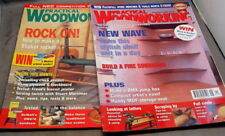 PRACTICAL WOODWORKING - AUGUST 2001 & SEPTEMBER 2002 Copies  £3.45 Delivered