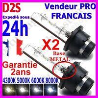 2 Ampoules D2S 55W Xénon 5000k 6000k 8000k Lampe rechange feu phare origine HID