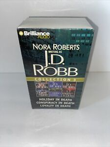 JD Robb Nora Roberts Holiday Conspiracy Loyalty In Death  Audio Cassettes