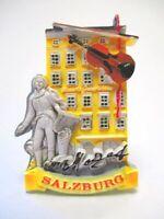 Salzburg Magnet Mozart Geburtshaus Souvenir 7,5 cm Österreich Poly (082)