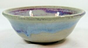 Vintage Hand Thrown Artisan Pottery Bowl Signed  BRP  VA    Preowned
