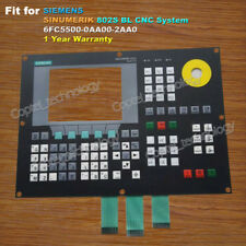 for SIEMENS 802S BL 6FC5500-0AA00-2AA0 Membrane Keypad 6FC5 500-0AA00-2AA0