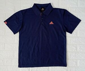 Adidas Dark Blue Men's Polo Shirt size 95 may fit to S-M frame