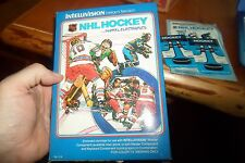 Intellivision NHL Hockey COMPLETE  with box