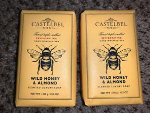 Wild Honey & Almond Luxury Scented Luxury Soap Bar 10.5 oz Castelbel Porto Lot 2
