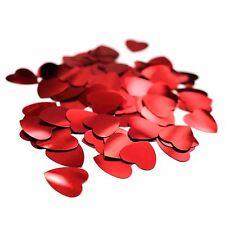 Small Romantic Valentines Celebration Anniversary Wedding Confetti - Red Hearts