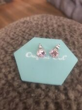 """Authentic Origami Owl Pink Crystal Stud Earrings """"New  A +"""