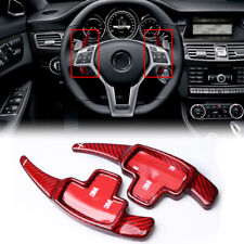 For Mercedes Benz A B C E Class Real Carbon Fiber DSG Paddle Shifter Extension