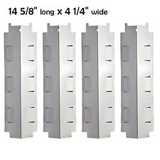 Gas Grill Replacement Parts Stainless Steel Heat Plate Shield Brandnew 4 Pack