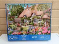 WHSmith 1000 PIECE JIGSAW PUZZLE Wishing Well Cottage