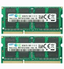 Samsung 2X8GB DDR3L 1600MHz PC3L-12800S 2RX8 1.35V 204pin SODIMM Laptop Memory
