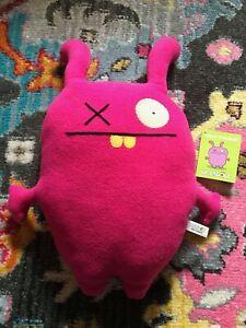 "Uglydolls - Ugly Charlie 14"" Plush Stuffed Ugly Doll Pink"