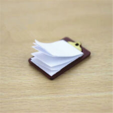 3Pcs Roll of bathroom tissue toilet paper 1:12 dollhouse miniature  VG