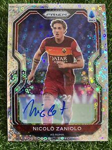 2020-21 Chronicles Prizm Soccer NICOLO ZANIOLO /149 Circle Prizm Auto Roma