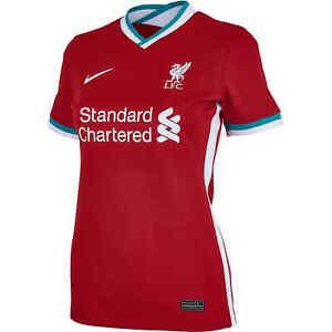Nike Women's Liverpool FC 2020/21 Home Stadium Jersey Red (L) CZ2641-687