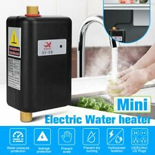 3800W 110V Mini Instant Electric Tankless Hot Water Heater Shower Kitchen Bath