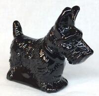 Mosser Art Glass Black Scottie Dog