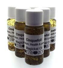 cinquefoil Herbal Magia Unción 10ml Aceite Sabiduría saludable