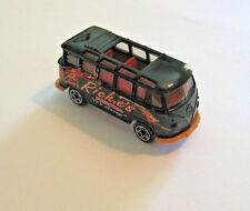 Matchbox VW Bus, Open Top 22 Window Version, Transporter Bus Pizza Delivery Van