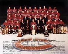 1986 MONTREAL CANADIENS TEAM PHOTO 8X10