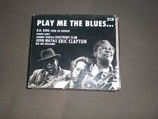 3CD BOX COMPILATION VARIOUS ARTISTS PLAY ME THE BLUES - VG+ -NETHERLANDS 2000
