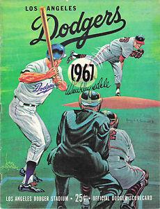 Don Drysdale Auto L.A. Dodgers Scorecard-4/23/67 - Autographed/Signed-FREE SHIP