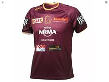 BRISBANE Broncos NRL 2019 Training T Shirt ISC Large.