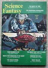 SCIENCE FANTASY Winter 1971 - The Quest of Time by Edmond Hamilton