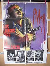 A1792       LOS LARGOS DIAS DE LA VIOLENCIA. ROBERT BLAKE, CATHERINE SPAAK, ERNE