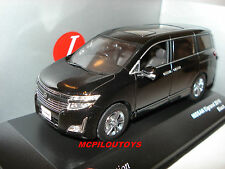 J-COLLECTION JC208 NISSAN ELGRAND BLACK 2010 au 1/43°