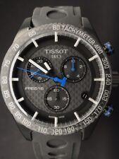 Tissot T1004173720100 PRS 516 Swiss Quartz Chronograph Rubber Mens Watch CARBON