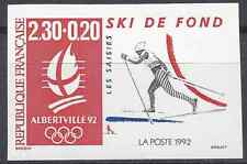 JEUX OLYMPIQUES JO N°2678 TIMBRE NON DENTELÉ IMPERF 1991 - NEUF ** LUXE MNH