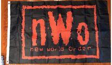 NWO New World Order Wrestling Flag 3x5ft Black banner