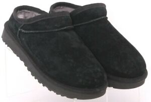 Ugg 1009249 Classic Water Resistant Black Hard Sole Slipper Shoes Women's US 5