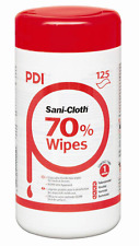 Sani-Cloth 70% Alcohol Wipes  tub 125