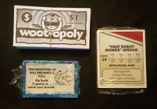NEW Wootopoly Game Money & Cards Pieces Monopoly (AA2-2)