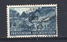 Hinge Remaining Liechtenstein Stamps