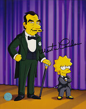 The Simpsons Signed 8x10 Picture Actor Martin Landeau Autograph Great Raymondo