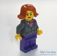 Lego Minifig -  Female Diner Manager With Two Faces - ID TWN311 - NEW - RARE